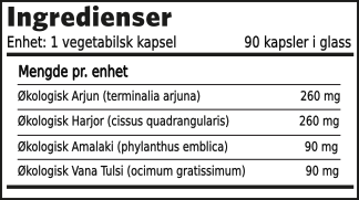 Kolestrol formel ingredienser