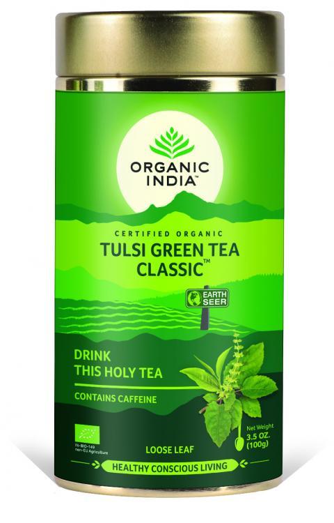 Green Tea Tin Can