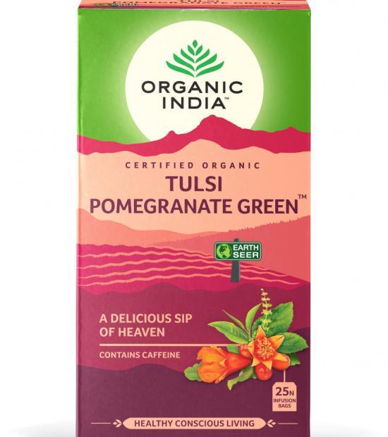 Tulsi grateple grønn té