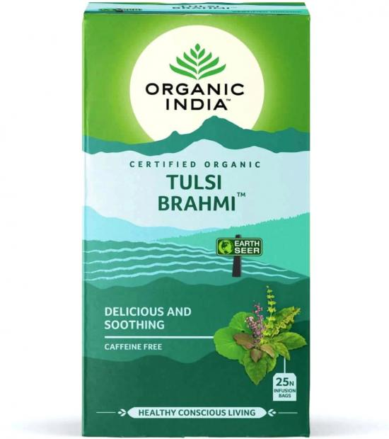 Tusli Brahmi tea box