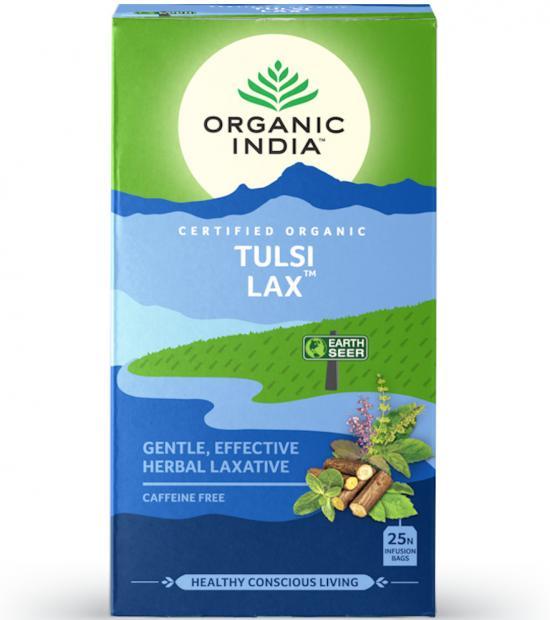 Tulsi Lax tea box