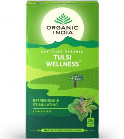 tulsi wellness tea box