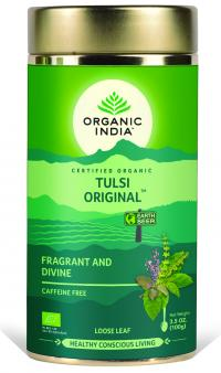 Tulsi original Tea Tin Can