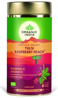 Raspberry Peach Tin Can